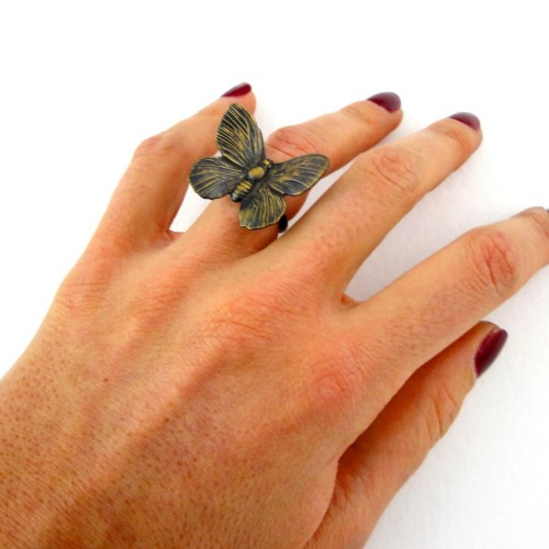 bague papillon gm porte