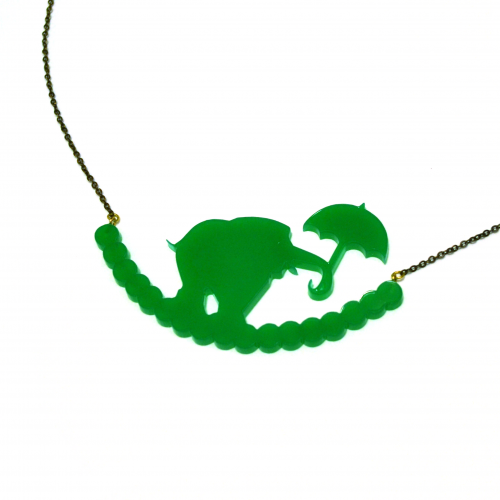 collier elephant porcelaine2