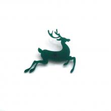 pin's renne vert