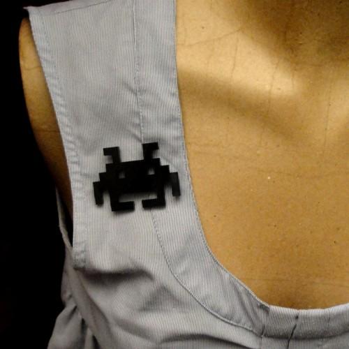 pins space invader porte